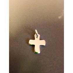 Médaille croix en argent 1,5 cm