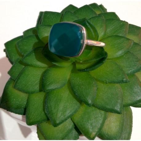 bague green quartz / green améthyste