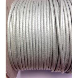 coton ciré  - Gris clair (2mm)