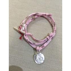 Bracelet vierge nacre lien liberty