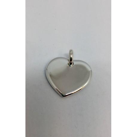 Médaille M1 coeur argent