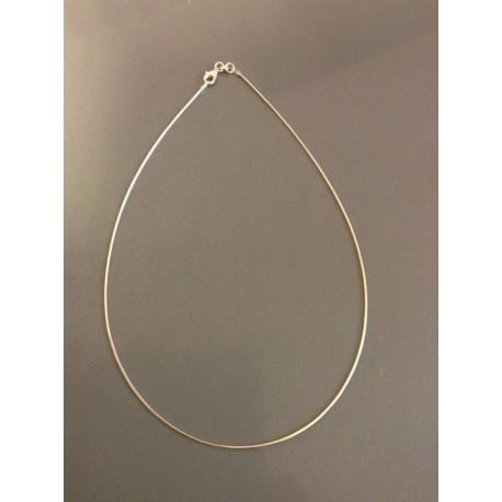 Cable plaqué or pour collier