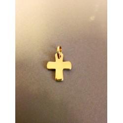 Médaille croix en plaqué or 1,5 cm