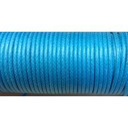 Coton ciré - Turquoise (2mm)