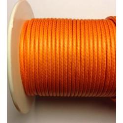 Coton ciré - Orange (2mm)