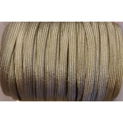 coton SYNTHETIQUE  BEIGE/ TAUPE (2mm)
